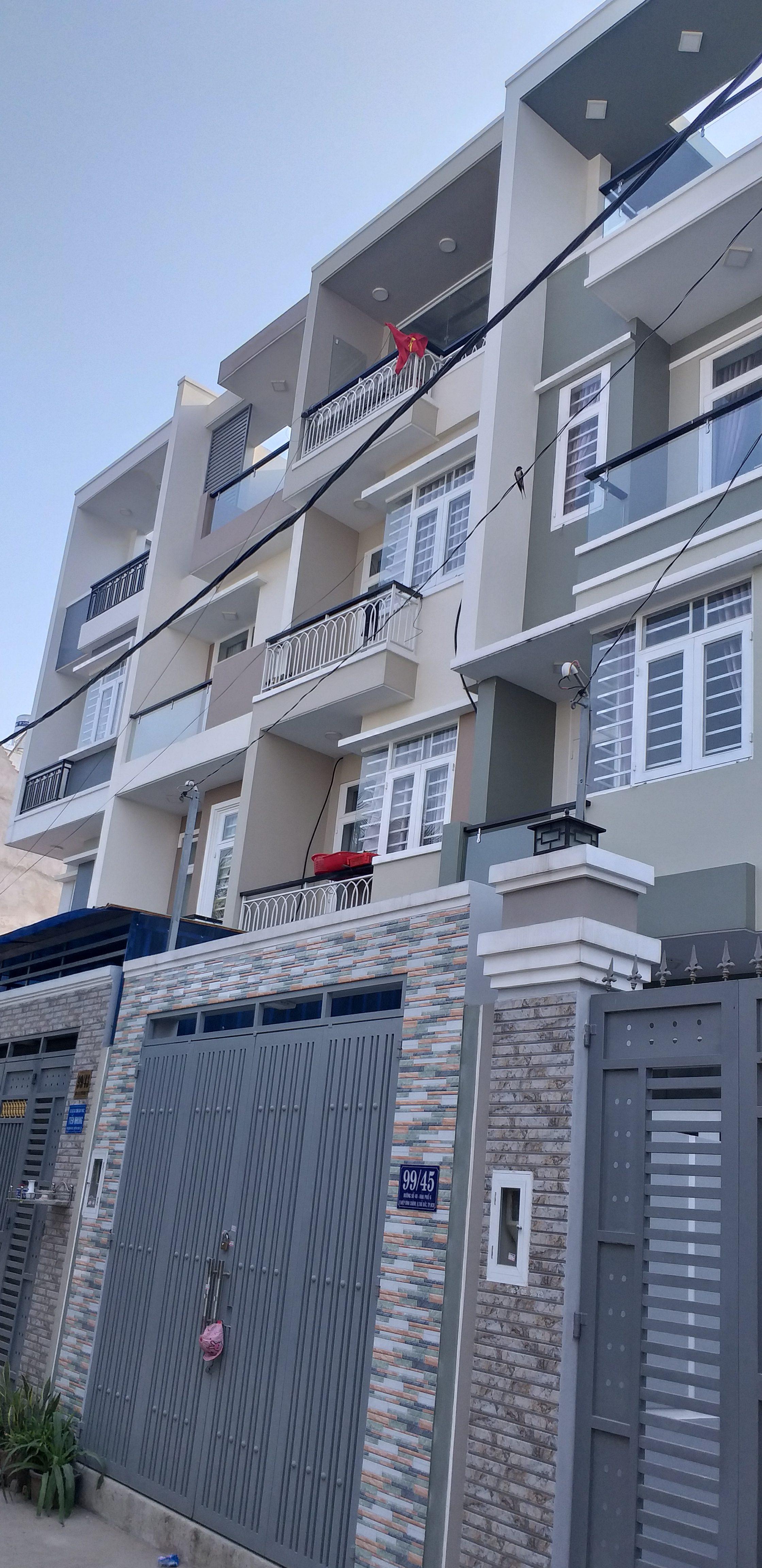 Nguyễn Đức Nguyên-4 căn nhà phố liền kề </br> Địa chỉ: Thủ Đức