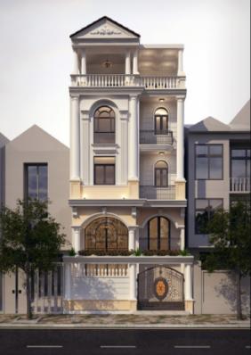 6 Mẫu Nhà Tân Cổ Điển Đẹp Năm 2019